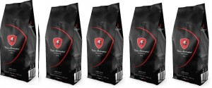 Kawa Tonino Lamborghini RED 5 x 200g ziarnista bag